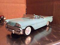 1958  Chevrolet Impala convertible as is destortion Dealer Promo 1/25 loose