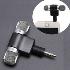 Metallico Microfono Stereo Registrazione Voce Cellulare Strumenti Musicali