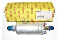 GENUINE BOSCH 044 0580254044 Inline External 300LPH Fuel Pump w/ AN Fittings NEW
