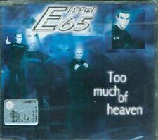 Eiffel 65 - Too Much Of Heaven 3 Tracks (Gabry Ponte) Cd Sigillato