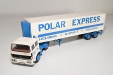 N WHITE METAL KIT RENAULT G260 TRUCK WITH TRAILER POLAR EXPRESS EXCELLENT COND.