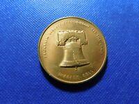 LIBERTY BELL 1776-1976 BICENTENNIAL US Musical La Grange Medal 39mm 26g R14.4