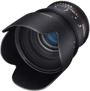 Samyang 50mm T1.5 UMC II Nikon Full Frame VDSLR/Cine Lens