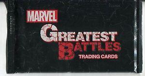 Marvel Greatest Battles Factory Sealed Hobby Packet / Pack