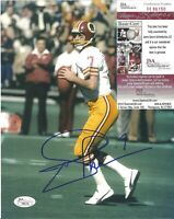 Joe Theismann Washington Redskins Signed Auto 8x10 Photo JSA COA