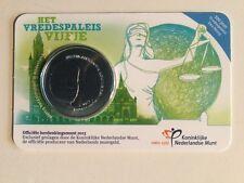 NEDERLAND 5 EURO 2013 VREDESPALEIS VIJFJE COINCARD