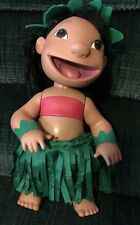 Disney Lilo & Stitch Doll Musical Hula Dancing Talking Doll Figure 2001 Hasbro