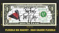 Pink Floyd the wall 3 IMÁN BILLETE 1 DOLLAR BILL MAGNET