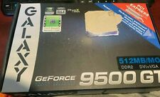 NEW Galaxy GeForce 9500GT 512MB DDR2 PCIe PCI Express 2.0 x16 Graphics Card