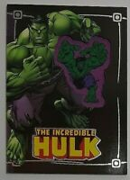 2015 Upper Deck Incredible Hulk Comic Con Exclusive Embedded Patch Card