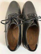 Dockers Never Wet Men's Leather Size 12 Black Parkway 90-36214