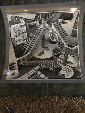 """MC Escher 'Relativity' Poster 14"""" X 14"""" Laminated!"""