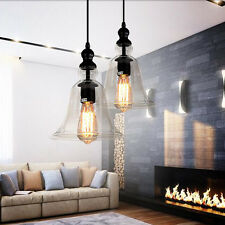 Vintage Fixture Ceiling Light Lighting Crystal Glass Pendant Chandelier Lamp