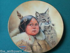 "Pride of American Indians collector plate by Perillo NIB ""Winter Scouts"" [am9]"