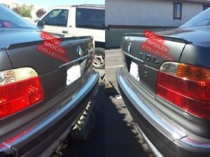 Painted Trunk Lip Spoiler For BMW 1994~2001 E38 7-series sedan All Color ◎