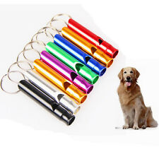 New Pet Dog Training Obedience Whistle UltraSonic Supersonic Sound Keyring Chain