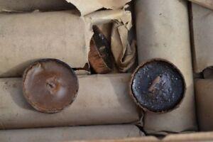 Deutsche Bunkerkerze aus Depot Original um 1918 WWI WH WWII WK2 German Candle