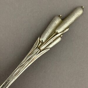 CAT TAILS by DURGIN Aesthetic Sterling Silver Strawberry Fork Fancy 4 7/8