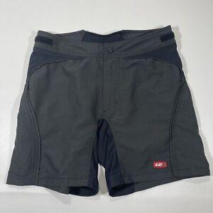 Louis Garneau Women's Size Large Santa Cruz Cycling Shorts Only Black