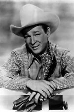 New 5x7 Photo: Legendary Western Cowboy Actor and Singer Roy Rogers