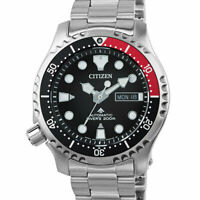 Citizen Promaster Automatic Divers Stainless Steel Men's Watch NY0085-86E