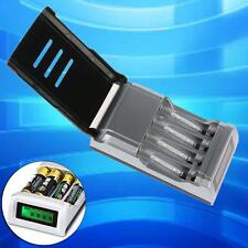 Universal Intelligent LCD Battery Charger Alkaline AAA AA Ni-MH NiCad Battery TS