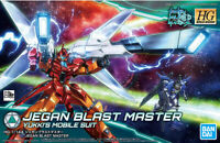 BANDAI GUNDAM HIGH GRADE - JEGAN BLAST MASTER 1/144 MODEL KIT - NEU/OVP