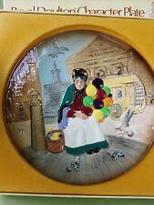 "Mib Royal Doulton Character Plate ""Old Balloon Seller"", 9 3/4"" Diameter"