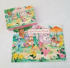 Vintage 1983 Rose Petal Place Puzzle 100 Pieces Springbok Hallmark Complete