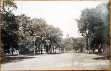 1926 Realphoto Postcard: Broad Street - Claremont, New Hampshire NH