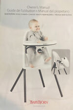 BABYBJORN Folding High Chair - White - In Original Box, With Manual
