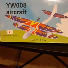 New listing Usb Charged Electric Propeller Driven Foam Toy Airplane Easy Assembly Required