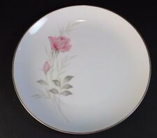 Camelot China American Rose 1655 JAPAN Salad Plate Gold Trim