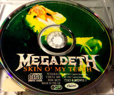 Megadeth Skin O' My Teeth CD Single 3 track 1990 Rare picturel CD live