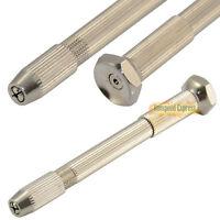 Micro HSS Mini Twist Drills & Archimedes Swivel Head Pin Vice Watch Maker Tools