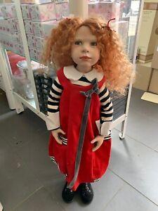 Zwergnase Nicole Marschollek Doll 75 Cm. Top Condition