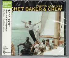 Sealed CHET BAKER & CREW s/t JAPAN CD UCCU-90149 2015 Suburbia Suite Collection