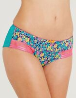 CLEO by PANACHE NYLA BRIEF Knicker BLUE FLORAL 7572 Size 18 NEW