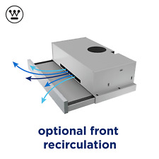 Westinghouse WRR614SB 60cm Slideout Recirculating Rangehood