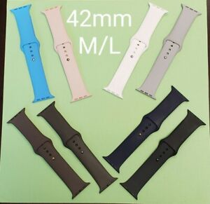 OEM Apple bands for iWatch various color to choice from 42mm M/L