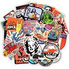 Funny JDM Stickers 50 PCS Retro Style Skateboard Grafiti Travel Vinyl Laptop Lot