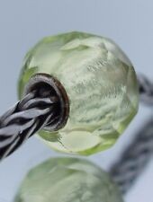 Authentic Trollbeads Lime Prism 60191 New Glass Charm Bead