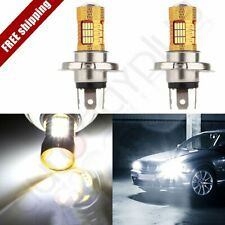 2x Cree LED H4 54SMD High Power 60W Lamp 6000K Fog Driving DRL Daytime Light
