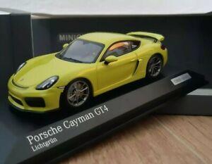 Porsche CAYMAN GT4 Minichamps 1/43 CAR.TIMA
