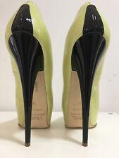 1969 Pumps 5cm platform17 cm Sexy Black gold peeptoe sky high heels 38 39
