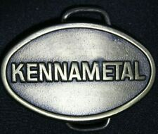 Buckle 1980s Estate Find Excellent #D7 Vtg Kennametal Mining Tools Equip Belt