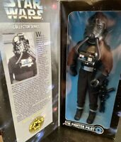 "Star Wars Collector Series ""TIE Fighter Pilot"" 12"" Action Figure 1997 Kenner NEW"