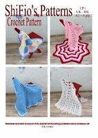 CROCHET PATTERN for 5 BABY BLANKETS AFGHANS #1 By ShiFio PatternsTHIS IS A BOOK
