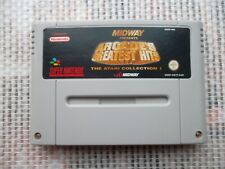 Jeu Super Nintendo / Snes Game Arcade's Greatest Hits Atari coll PAL authentic *