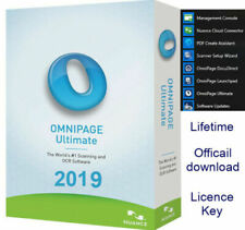 Nuance OmniPage Ultimate 19-OCR Scanning 2019 Key +download link fast e-Delivery